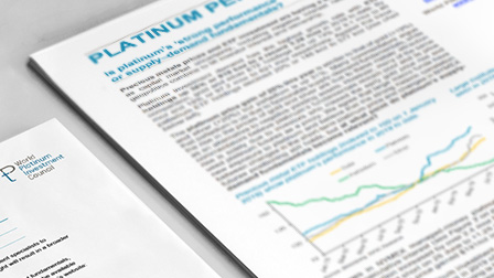 World Platinum Investment Council - Investment Research